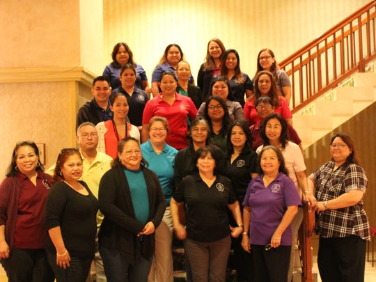 The Guam Housing and Urban Renewal Authority and the Northern Marianas Housing Corporation partnered for their employees to receive certification training on the Housing Choice Voucher Specialist Program from Aug. 21-24, at the Pacific Star Hotel. Guest trainer, Julie O'Conner from the Quadel Consulting Training, LLC.