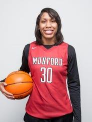 Gabby Crawford, Munford basketball
