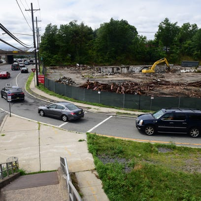 The Forum Diner, a Paramus landmark, was demolished