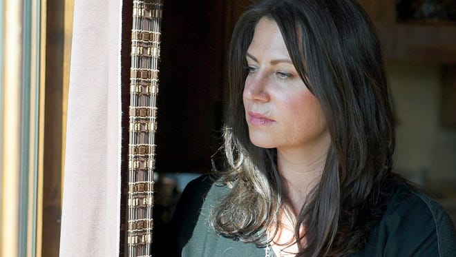 """In this undated photo released by the Southern Poverty Law Center's Dan Chung, Tanya Gersh poses for a photo. Gersh, a Montana real estate agent, sued the founder of a neo-Nazi website Andrew Anglin, accusing him of orchestrating an anti-Semitic internet trolling campaign that terrorized her family amid her dispute with the mother of a leading white nationalist. Anglin has dubiously claimed he lives in Nigeria. A federal judge in Montana has warned Anglin's attorneys that he won't tolerate any """"game-playing"""" and expects him to disclose where he has been residing, according to a court transcript obtained by The Associated Press."""