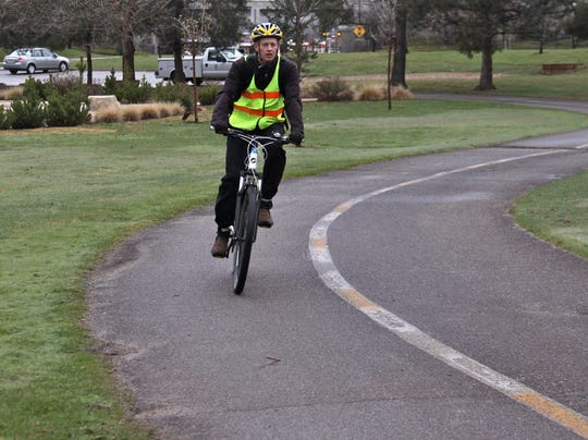 Biking to work increases 60% in past decade