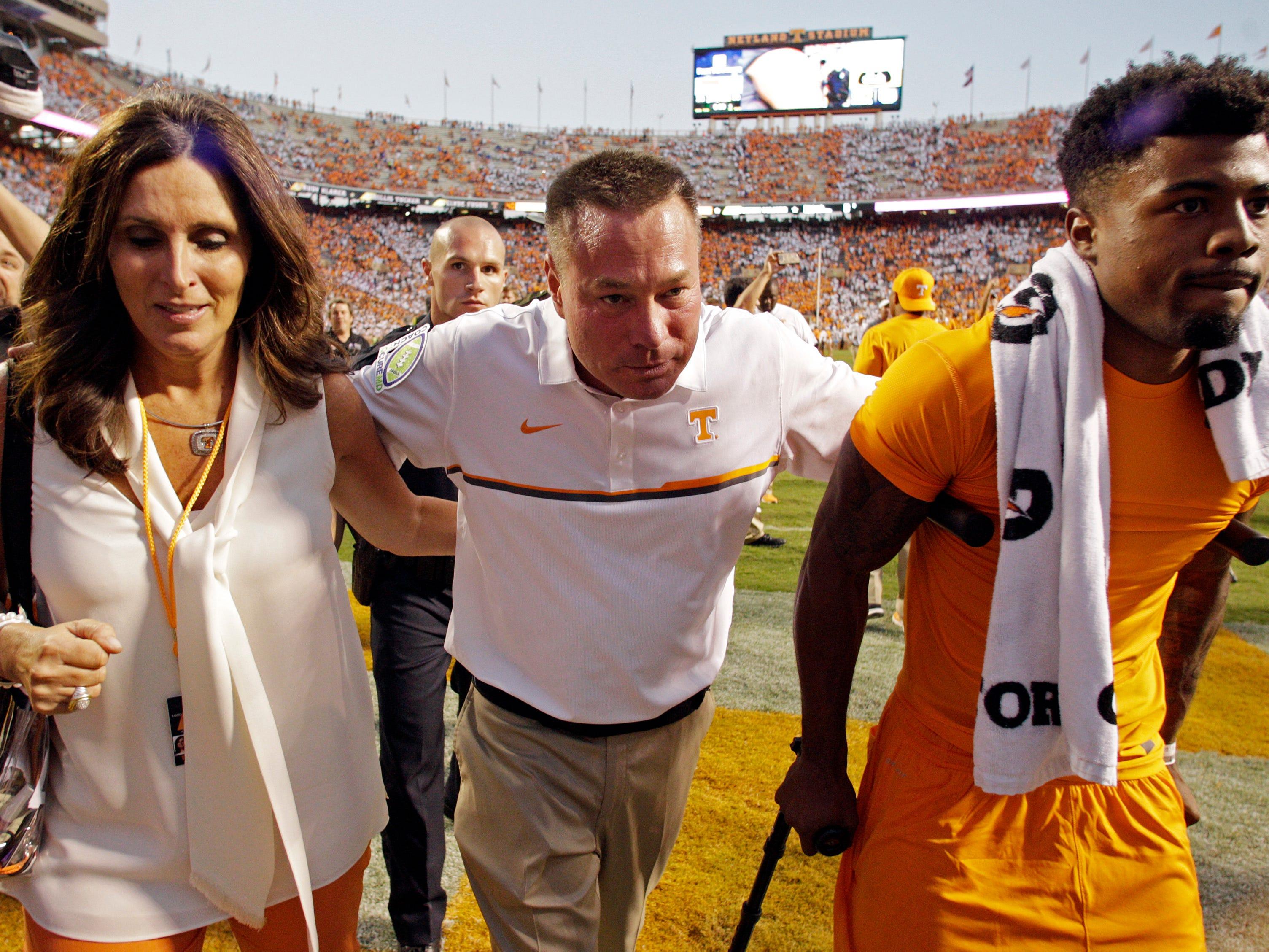 Jeremy Pruitt Wife >> Antone Davis email: Wife of former Vols coach Butch Jones spread false info about me | USA TODAY ...