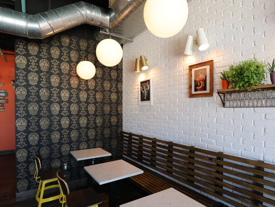 The interior of The Taco Project on North Broadway
