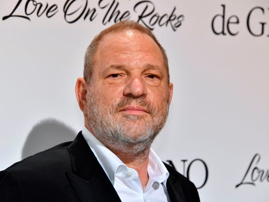 Hollywood mogul Harvey Weinstein, who has been accused by dozens of women of sexual harassment or assault.