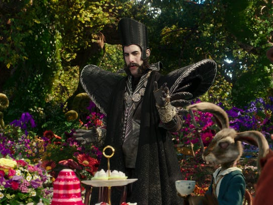 Sacha Baron Cohen plays Time in 'Alice Through the