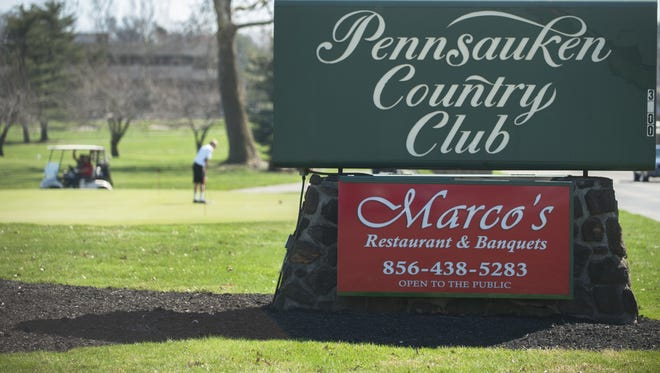 A view of the golf course at the Pennsauken Country Club.  04.10.14