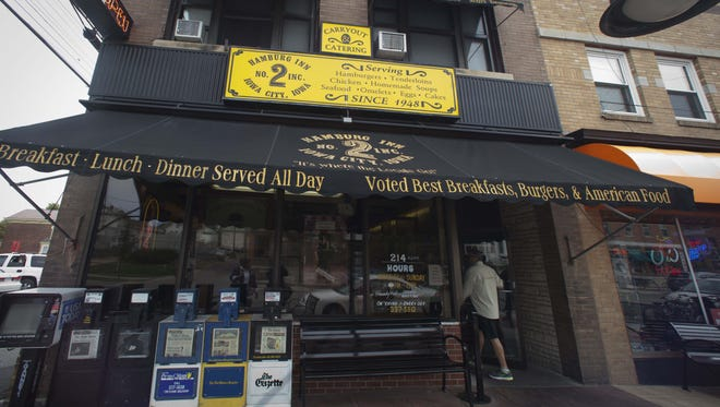 Hamburg Inn No. 2, 214 N. Linn St., was voted a top diner by Buzzfeed readers.