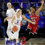 Three-pointer: Lady Raiders at Tennessee Tech