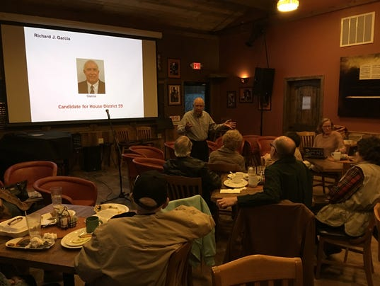 Garcia addresses county Dems