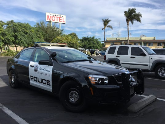 Ventura police cruiser