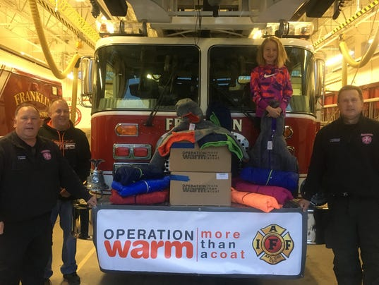 Operation Warm Franklin Fire Department