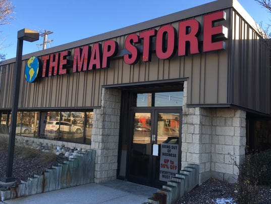 The Map Store to close