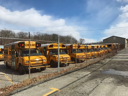 West Milford school bus depot 2017