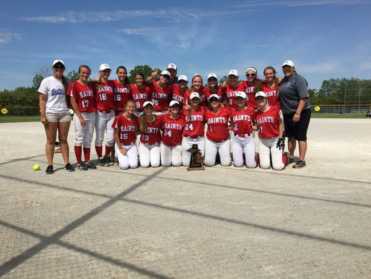 St. Clair wins softball district