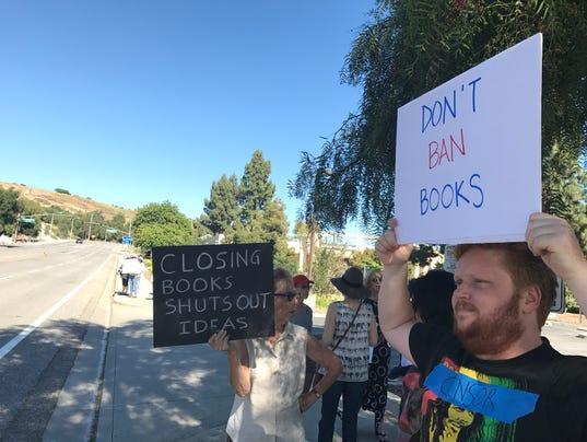 Book protest