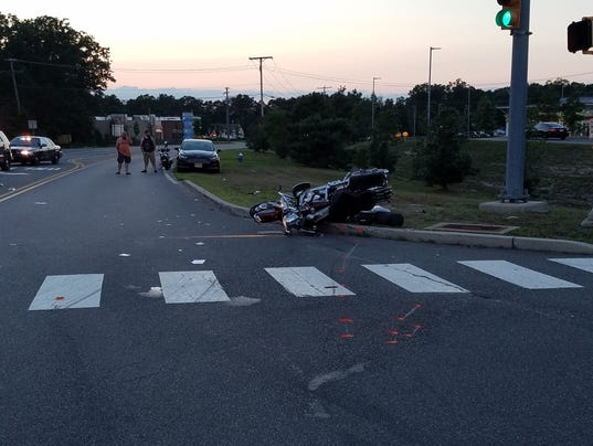Manchester Motorcycle Crash