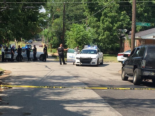 In South Memphis, a double shooting, then another double shooting
