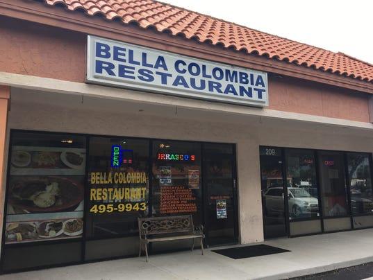 Bella Colombia exterior