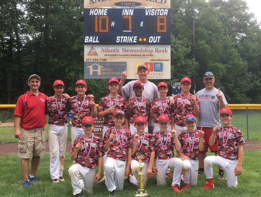 Glen Rock's 12U team