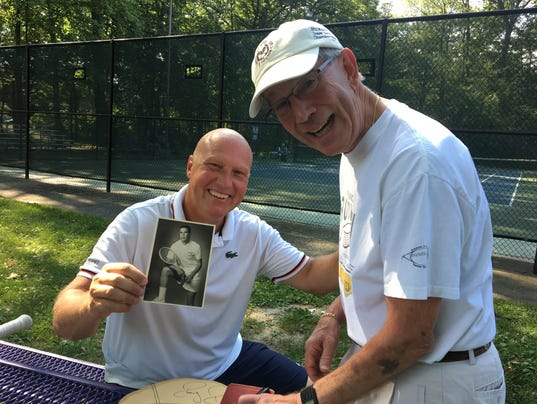 Art Smith, Francis J. Robinson Tennis Tournament
