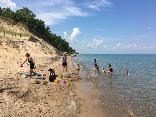 Alluring Lake Michigan Dunes Hide Destructive Potential