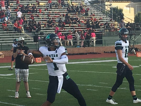 Justin Fields at Rome