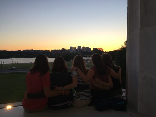 National Youth Science Camp sunset.JPG
