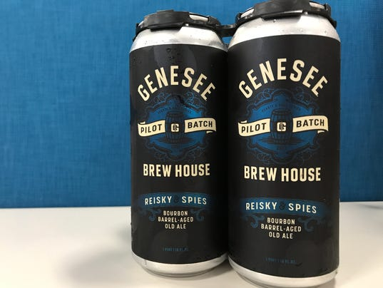 Genesee Pilot Batch: Reisky & Spies Bourbon Barrel-Aged Old Ale