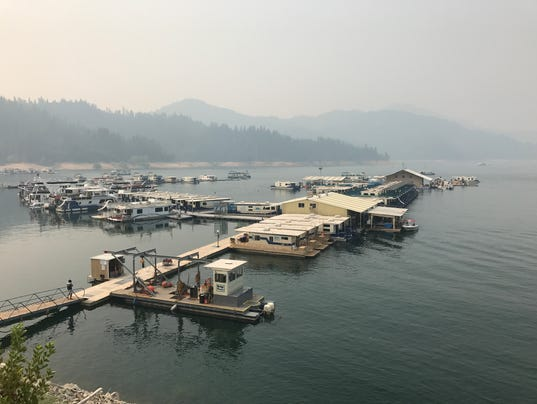 Lake Shasta smoke