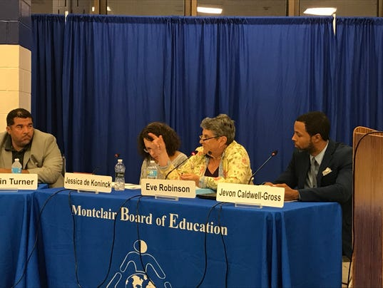 MONTCLAIR BOE MEETING