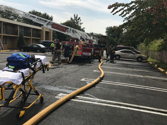 Hanover hotel fire