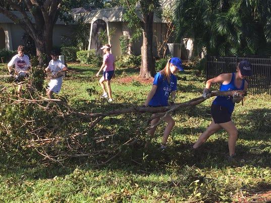 Bishop Verot cleanup 15