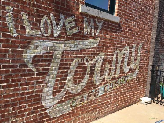 Towny mural