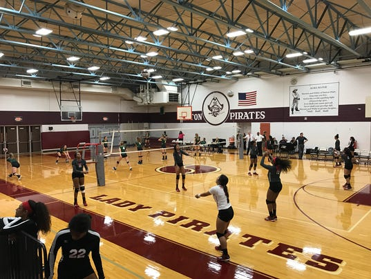 10-3 Rockport-Fulton-West Oso volleyball