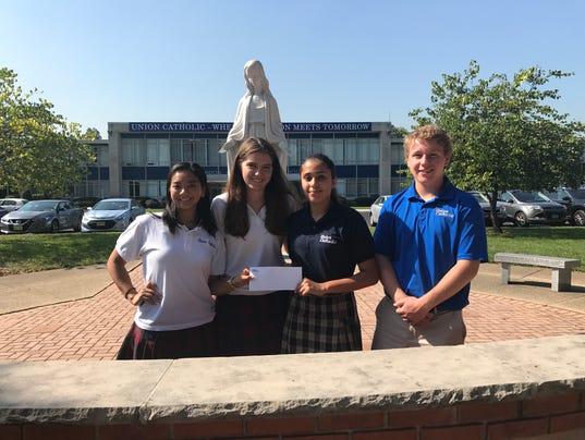 Union Catholic High School student-to-student scholarship