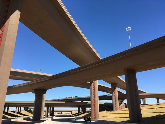 Loop 303 I-10 interchange