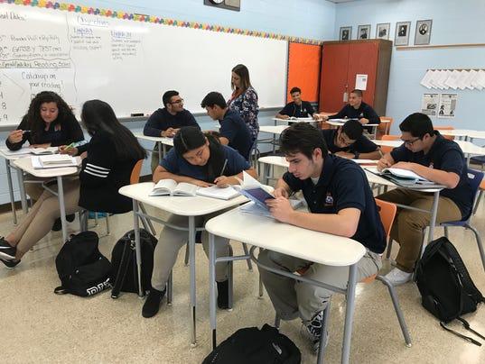 Lodi HS class