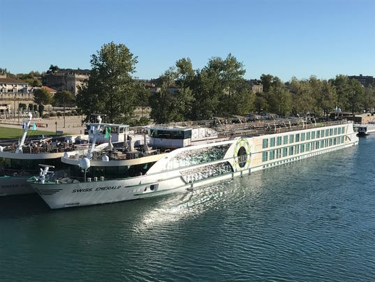Originally built in 2006 and revamped in 2017, Tauck's Emerald is one of the most intimate and upscale river ships sailing in Europe. (Photo: Gene Sloan, USA TODAY)