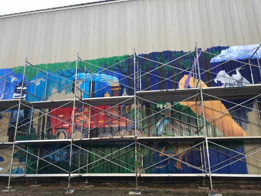 AMWAT Mural project