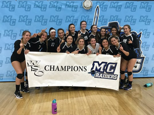 Moorpark College women's volleyball