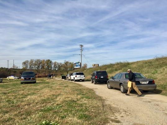 Body discovered near Ellis