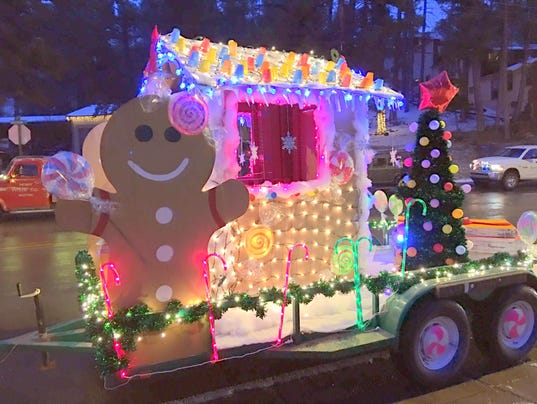 gingerbread festival of lights parade