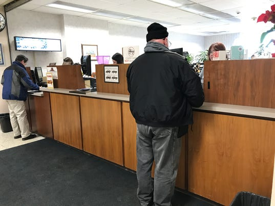 Paying property taxes in West Allis