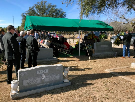 Funeral for J. Willis Johnson, III