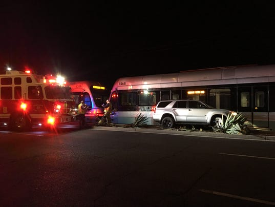 Light rail vs. SUV