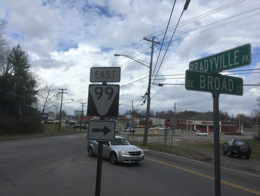 Bradyville Pike