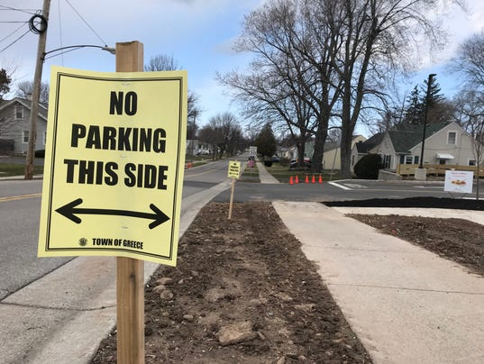 Parking restrictions began for Chick-fil-A opening