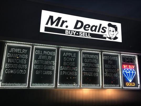 Mr. Deals pawn shop