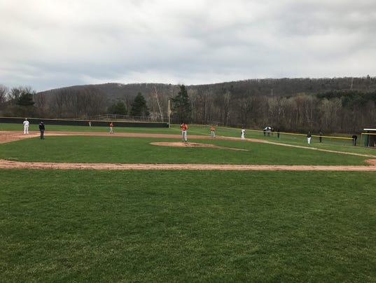 U-E vs. Vestal baseball