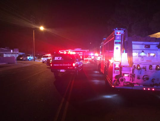 1 dead, 2 wounded in shooting at Phoenix apartment complex